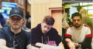 Matt Staples, Bryan Paris e Johan Guilbert