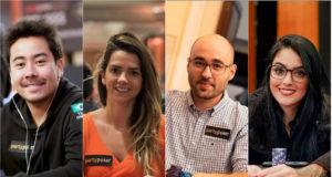Renato Nomura, Dayane Kotoviezy, Lui Martins e Rebeca Rebuitti