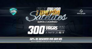 Satélites Super Million - Liga SuperPoker