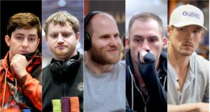 Ali Imsirovic, David Peters, Sam Greenwood, Justin Bonomo e Alex Foxen