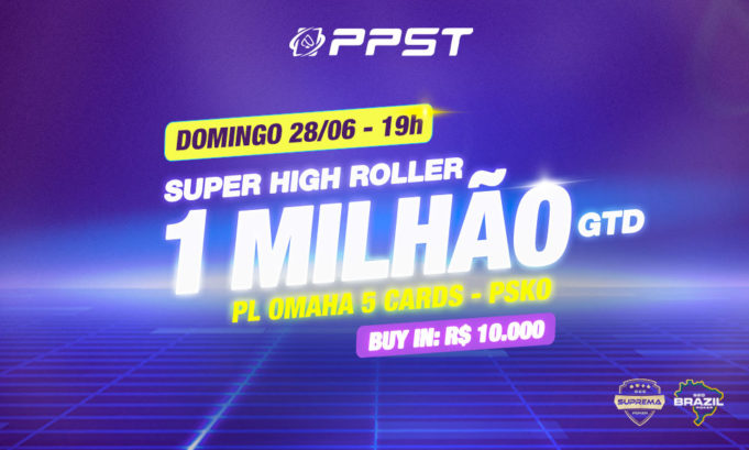 Super High Roller de PLO 5 cartas - PPST