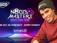 Ricardo Nascimento líder do ranking N8GGMasters