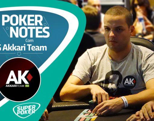 """QG Akkari Team: """"Evolução dos estudos no poker"""", por Giuliano Freitas"""