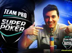 Rodrigo Monico - Campeão 3º torneio junho - SuperPoker Team Pro