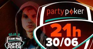SuperPoker Team Pro no partypoker