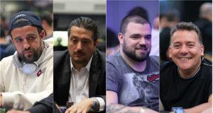 André Akkari, Igor Federal, Pedro Padilha e Eduardo Sequela