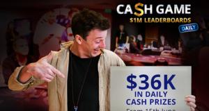 Cash Game Leaderboards diário - partypoker