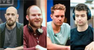 Stephen Chidwick, Sam Greenwood, Linus Loeliger e Michael Addamo