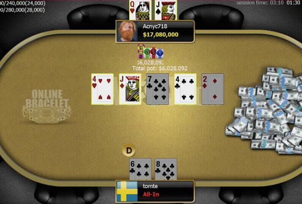 Allen Chang campeão do Evento #5 da WSOP Online
