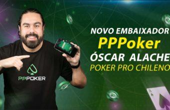 Oscar Alache embaixador do PPPoker