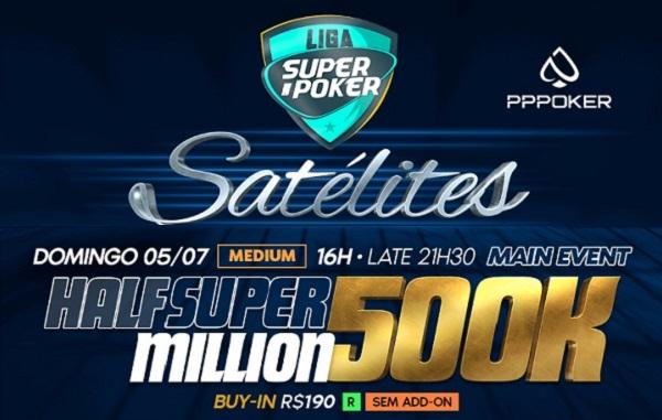 Half Super Million - Liga SuperPoker
