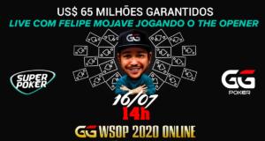 Transmissão SuperPoker com Felipe Mojave