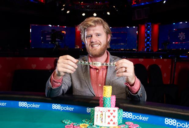 Nathan Gamble campeão do Evento #6 da WSOP Online
