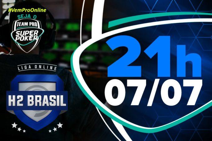 SuperPoker Team Pro - Liga Online H2 Brasil