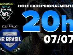 SuperPoker Team Pro na Liga Online H2 Brasil