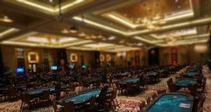Salão de poker vazio, poker online