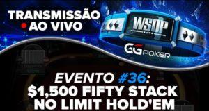 Transmissão ao vivo - WSOP Online