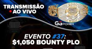 Transmissão ao vivo - WSOP Online - Ev. #37
