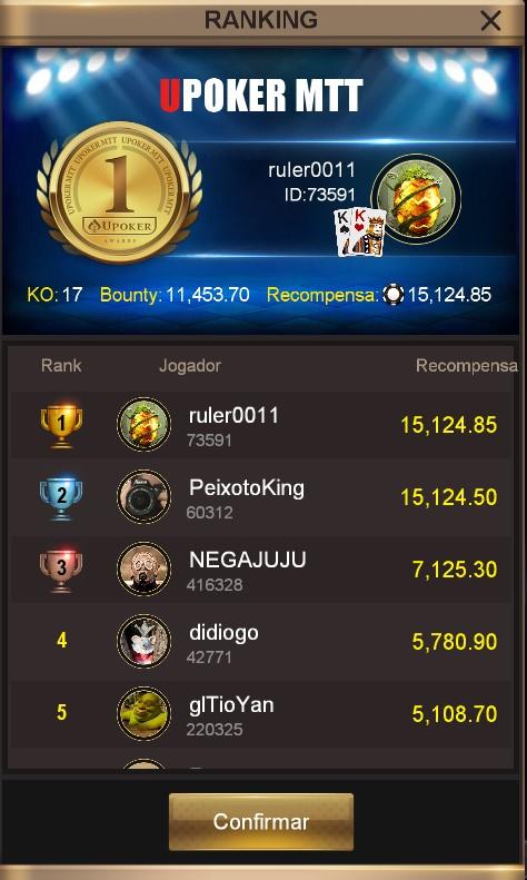 """""""ruler0011"""" - Liga Online H2 Brasil"""