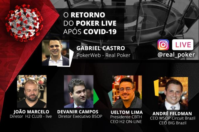 Live no Instagram da Real Poker