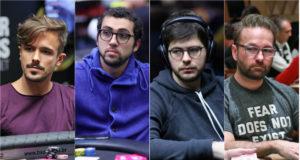 Yuri Martins, Rafael Moraes, Thiago Crema e Daniel Negranu