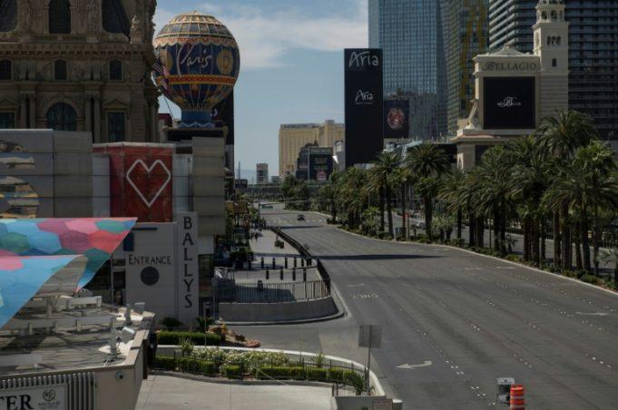Las Vegas Strip vazia