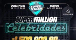 Super Million Celebridades - Liga SuperPoker