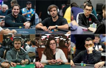 João Simão, Yuri Martins, Rafael Moraes, Thiago Crema, Lauriê Tournier e Peter Patrício
