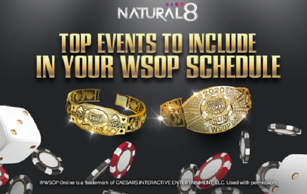 WSOP Online no Natural8