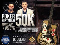 Poker Sertanejo, com Marcos & Belutti - H2 Online