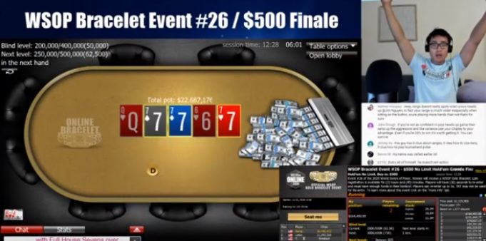 Ethan Yau - Campeão Evento #26 WSOP Online