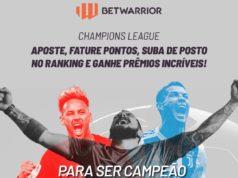 BetWarrior promoção Champions League
