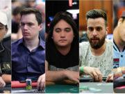 Belarmino Souza, Eduardo Pires, Dante Goya, Daniel Almeida e Felipe Mojave