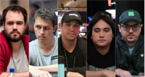 Bernardo Dias, Bruno Volkmann, Felipe Mojave, Dante Goya e Murilo Figueredo
