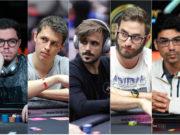 Brunno Botteon, Bruno Volkmann, Yuri Martins, Pedro Garagnani e Pablo Brito