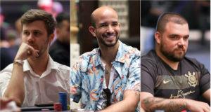 Kelvin Kerber, Alexandre Mantovani e Pedro Padilha