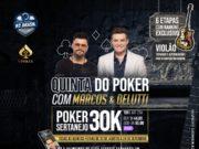 Poker Sertanejo da Liga Online H2 Brasil com Marcos & Belutti
