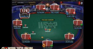 Mesa Final no Millionaire Maker da WSOP Online