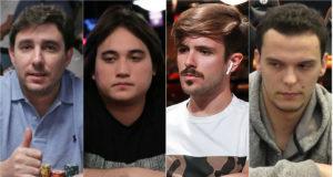 Renato Valentim, Dante Goya, Yuri Martins e Patrick Ulysséa