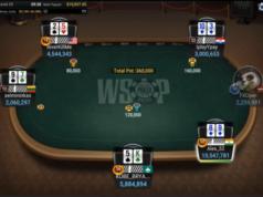 Reta final Evento #52 da WSOP Online