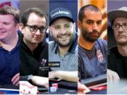 Simon Higgins, Rainer Kempe, Roberto Romanelo, João Vieira e Kahle Burns