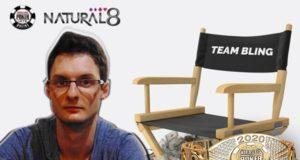 Marcelo Jakovljevic, novo membro do Team Bling do Natural8