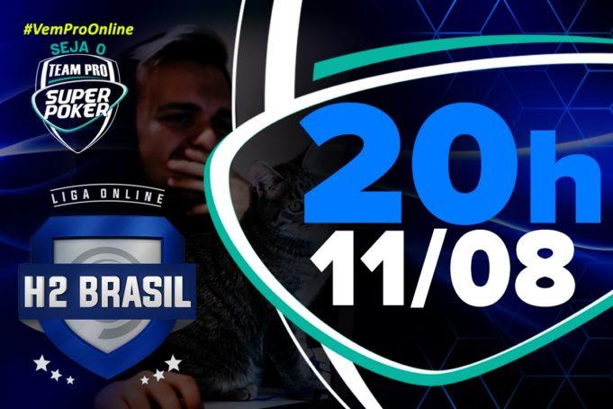 Quinto torneio de agosto do SuperPoker Team Pro - Liga Online H2 Brasil