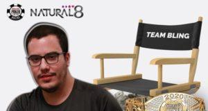 Eduardo Garla, novo membro do Team Bling do Natural8
