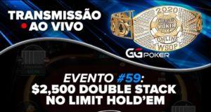 Transmissão Evento #59 da WSOP Online