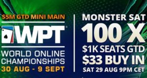 Monster Sat entregará 100 vagas ao Mini ME do WPT WOC no partypoker