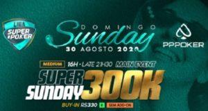 Satélites darão 100 vagas para o Super Sunday 300K da Liga SuperPoker