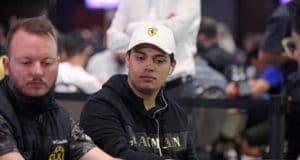 Belarmino Souza alcançou a primeira mesa final nesta edição do WCOOP
