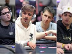 Quatro jogadores estão entre os dez melhores do mundo no poker online