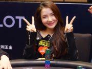 Wenling Gao fez história com vice no Main Event (foto: WPT)
